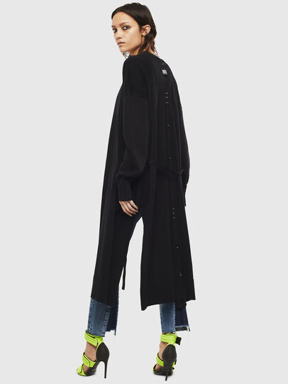 Diesel - M-JAPPY, Black - Knitwear - Image 2