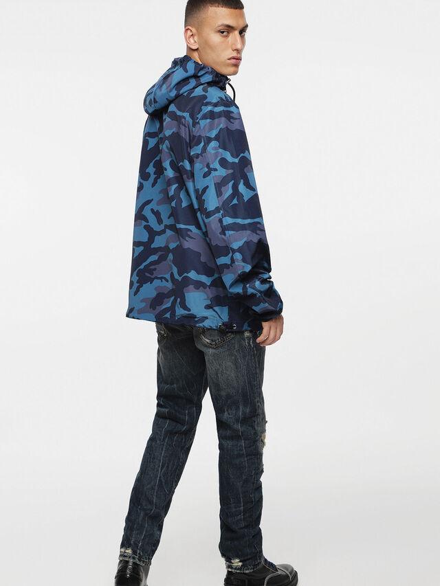 Diesel - J-ACOUSMATIC, Melange Blue - Jackets - Image 4