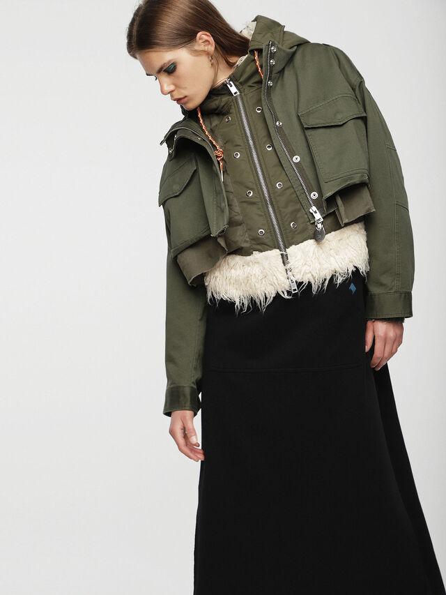 Diesel - W-LOTTI, Military Green - Winter Jackets - Image 3