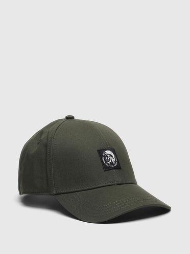 Baseball cap with Mohawk logo