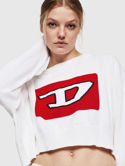 Diesel - M-LINDA, White - Knitwear - Image 4