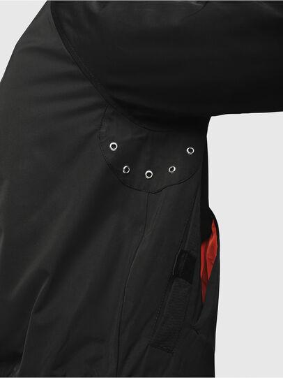 Diesel - J-SHOJI, Black - Jackets - Image 4