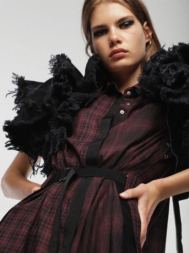 Diesel - D-BAGGY, Red/Black - Dresses - Image 5