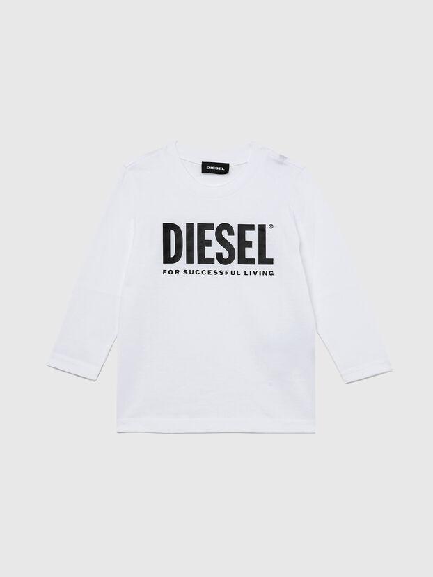 TJUSTLOGOB ML-R, White - T-shirts and Tops