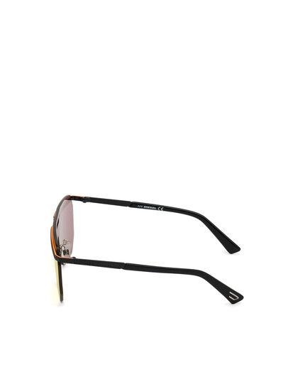 Diesel - DL0259, Orange/Black - Sunglasses - Image 4