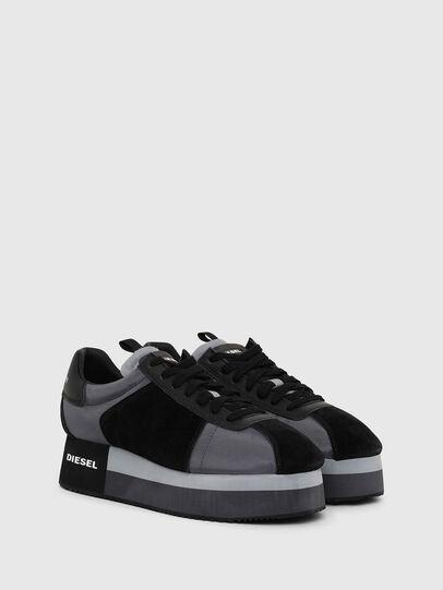 Diesel - S-PYAVE WEDGE, Blue/Black - Sneakers - Image 2