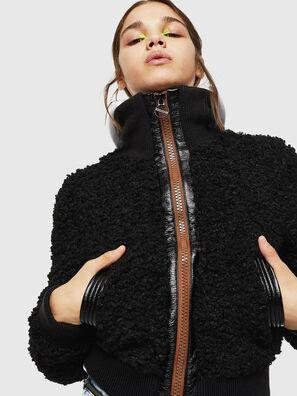 L-TOSHA, Black - Leather jackets