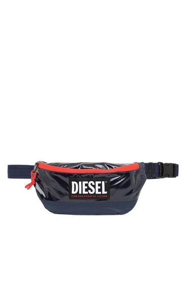 Belt bag in ripstop with contrast zip