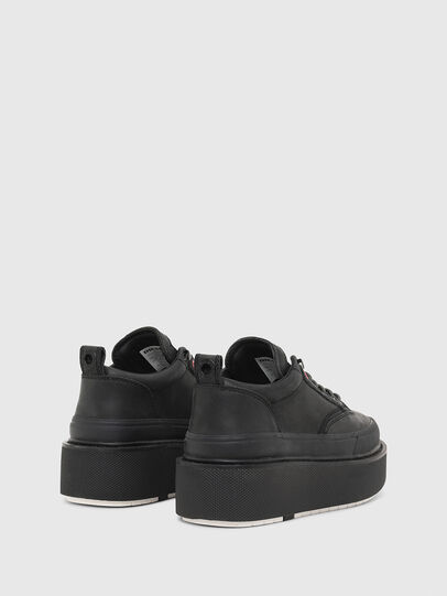 Diesel - H-SCIROCCO LOW LACE, Black - Sneakers - Image 3