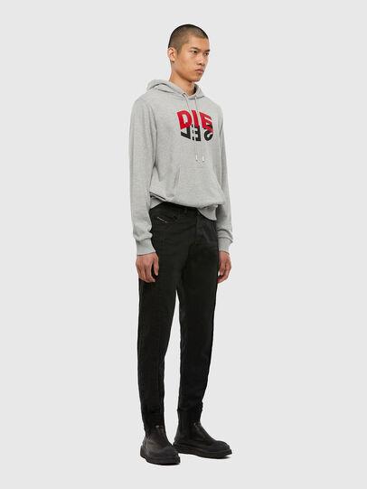 Diesel - D-Vider 009LA, Black/Dark grey - Jeans - Image 6
