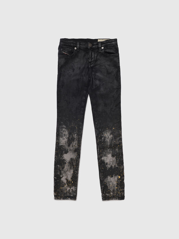 SKINZEE-LOW-J JOGGJEANS-N, Black/Dark grey - Jeans