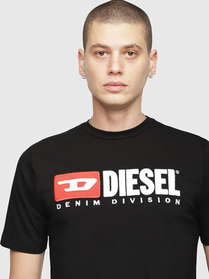 T-JUST-DIVISION, Black - T-Shirts