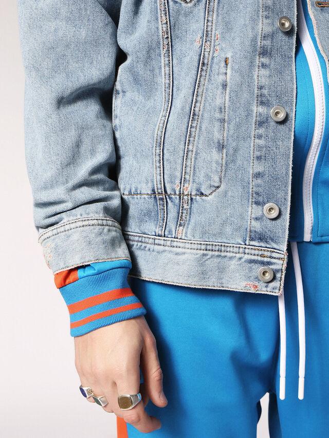 Diesel - D-WANO, Light Blue - Denim Jackets - Image 6