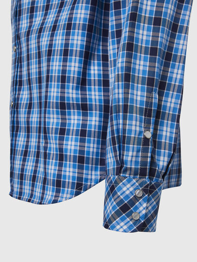 Diesel - S-EAST-LONG-O, Blue/White - Shirts - Image 3