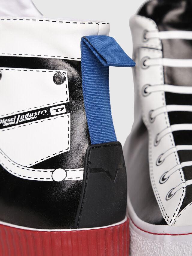 Diesel - S-DIESEL IMAGINEE MID, Black/White - Sneakers - Image 5