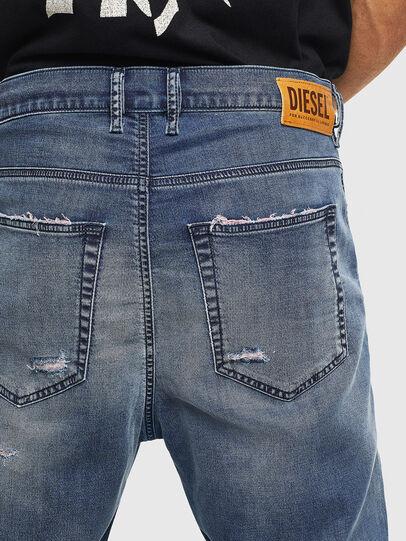 Diesel - D-Vider JoggJeans 069LW, Dark Blue - Jeans - Image 6