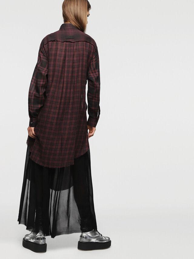 Diesel - D-BAGGY, Red/Black - Dresses - Image 2