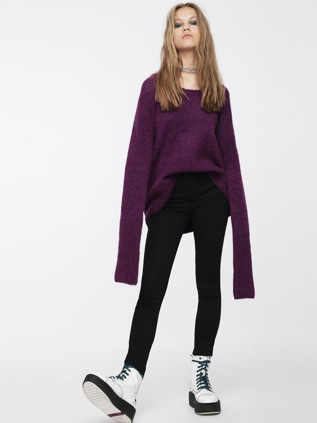 Diesel - M-ALPY, Violet - Knitwear - Image 4