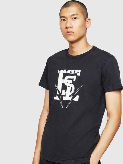 Diesel - T-DIEGO-B14, Black - T-Shirts - Image 1