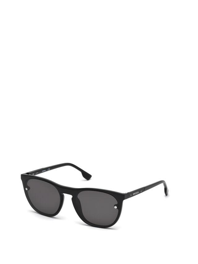 Diesel - DL0217, Black - Sunglasses - Image 4