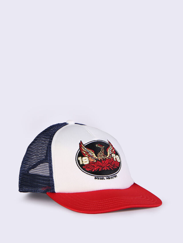 CONPON, White/Red/Blu
