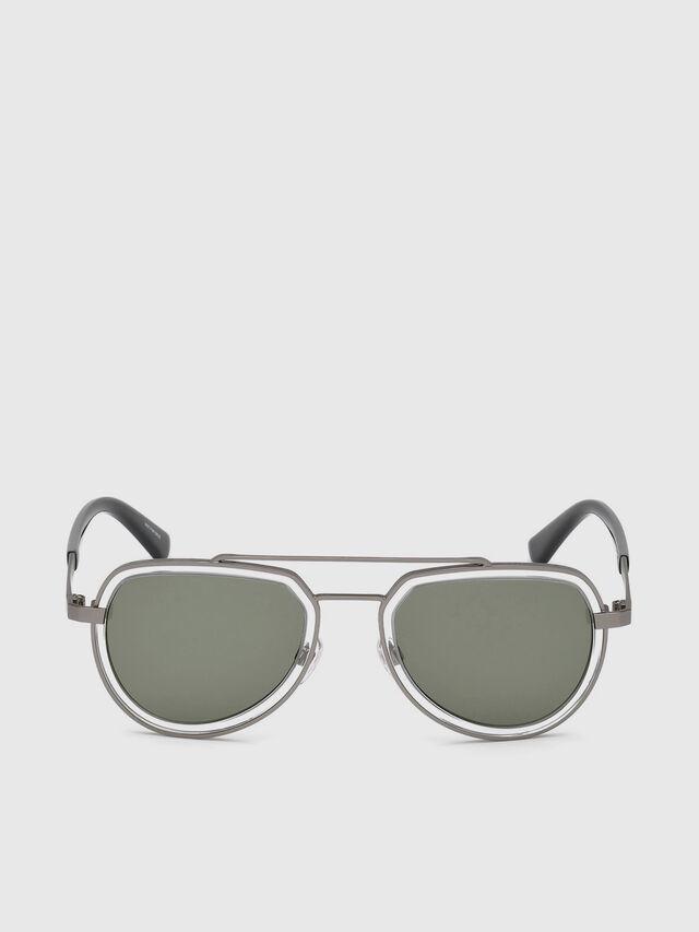 Diesel - DL0266, Black/Grey - Eyewear - Image 1