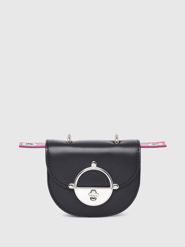 Saddle mini bag wallet with in nappa