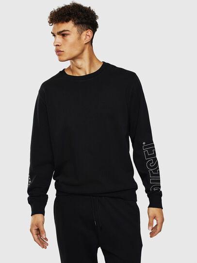 Diesel - UMLT-WILLY, Black - Sweaters - Image 1