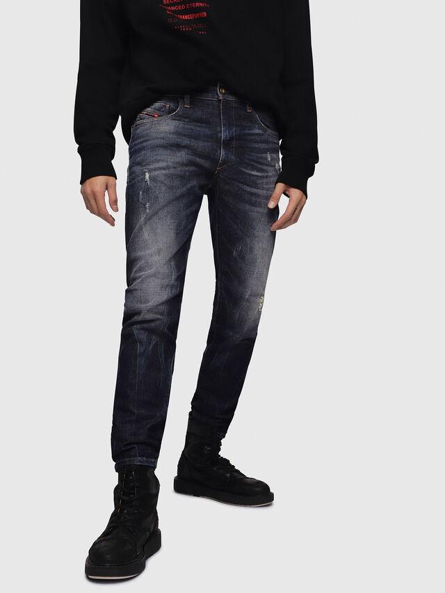 Diesel - D-Strukt 089AL, Dark Blue - Jeans - Image 1