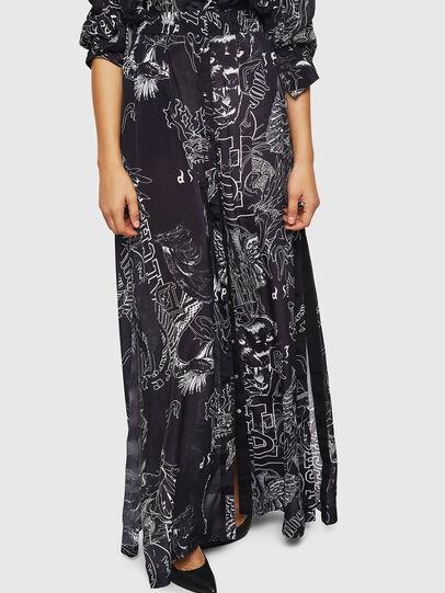 Diesel - O-MOYA-A, Black - Skirts - Image 1