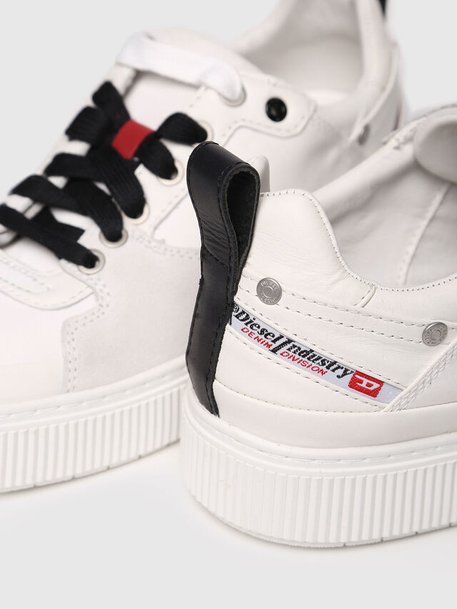Diesel - S-DANNY LC W, White - Sneakers - Image 4