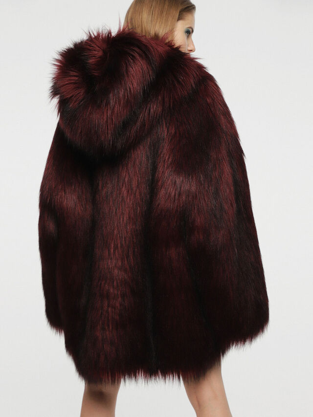 Diesel - L-WISKE, Red/Black - Winter Jackets - Image 2