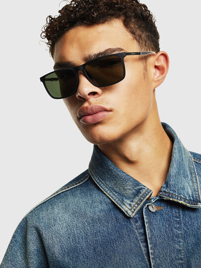 Diesel - DL0312, Black - Sunglasses - Image 5