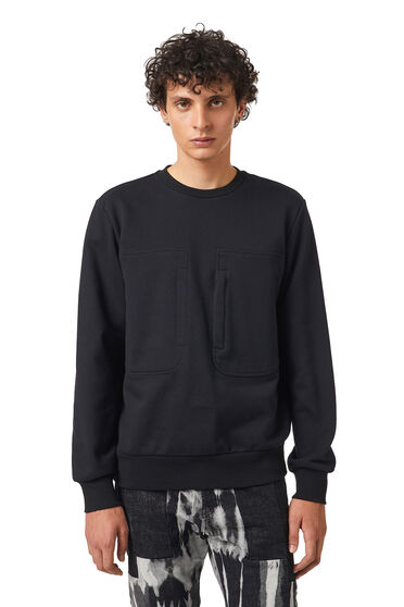 Sweatshirt with zip pocket
