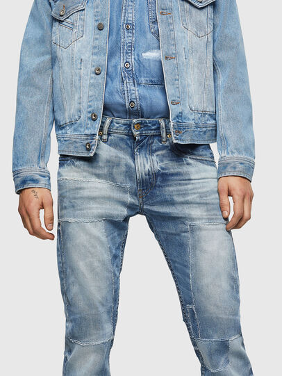Diesel - Thommer 0092F, Light Blue - Jeans - Image 3