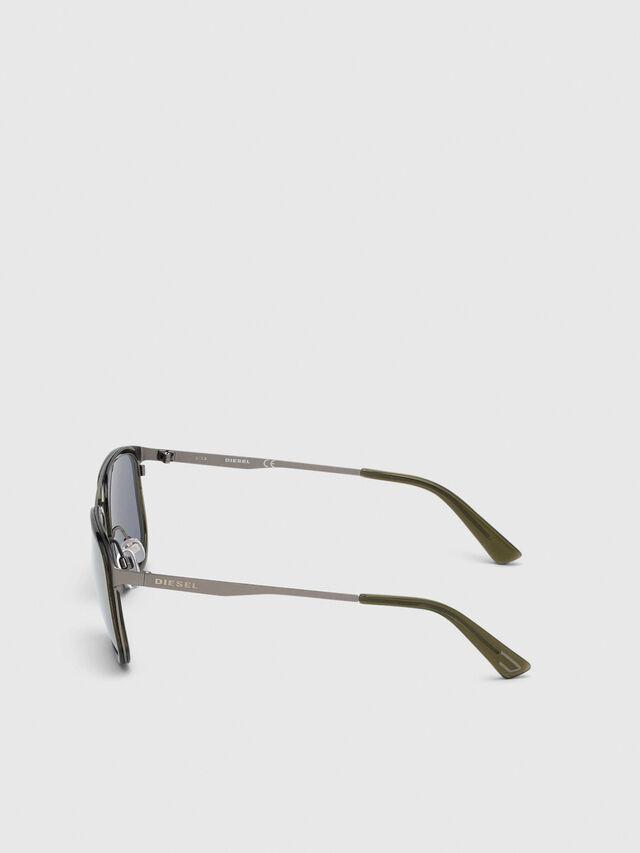 Diesel - DL0294, Olive Green - Sunglasses - Image 3