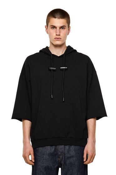 Half-sleeve hoodie