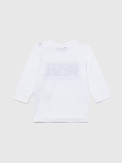 Diesel - TJUSTLOGOB ML, White - T-shirts and Tops - Image 2