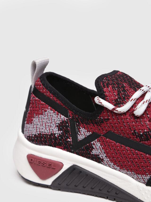 Diesel - S-KBY, Black/Red - Sneakers - Image 4