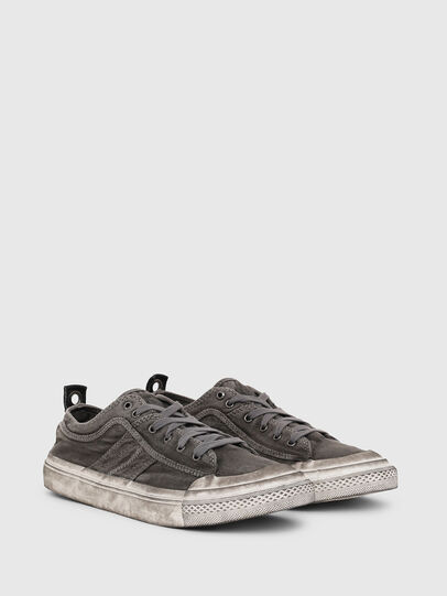 Diesel - S-ASTICO LOW LACE, Dark grey - Sneakers - Image 2