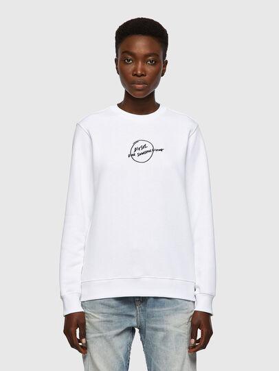 Diesel - F-ANGS-B1, White - Sweaters - Image 1