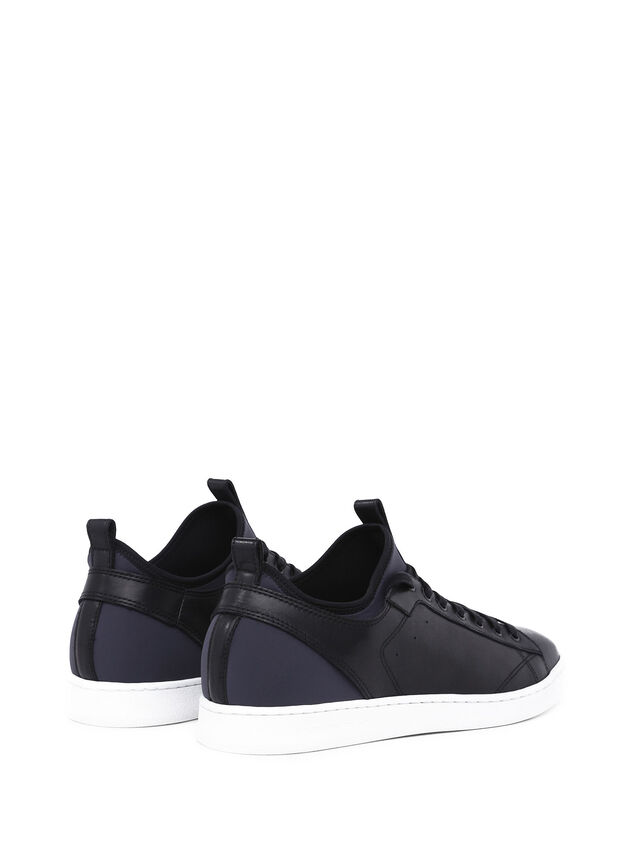 Diesel - S18ZERO, Dark Blue - Sneakers - Image 3