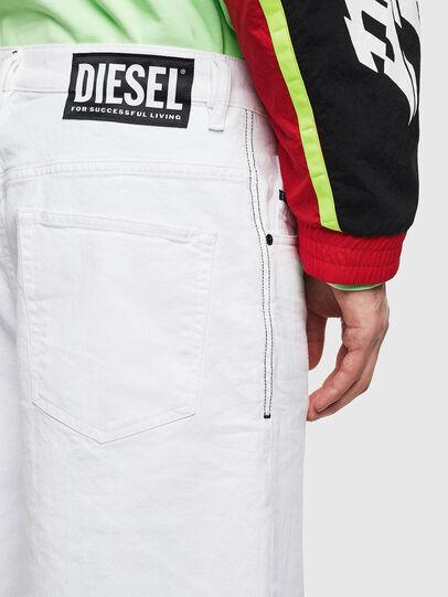 Diesel - D-BRON, White - Shorts - Image 3