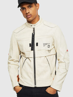 L-DIXON, White - Leather jackets