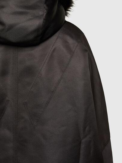 Diesel - W-URSULA-A, Black - Winter Jackets - Image 5