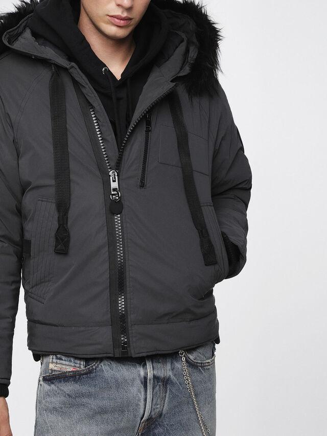 Diesel - W-CODY, Black - Winter Jackets - Image 3
