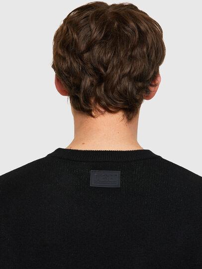 Diesel - K-ONTARIO, Black - Knitwear - Image 5