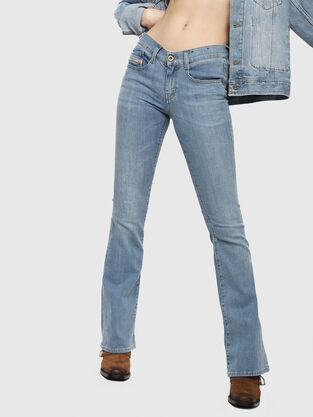 1456482d Womens Jeans: skinny, bootcut | Go with the game · Diesel