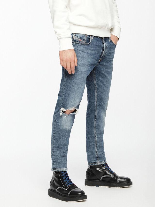 Diesel - Sleenker 069AI, Medium blue - Jeans - Image 3