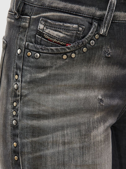 Diesel - Slandy 069QR, Black/Dark grey - Jeans - Image 4